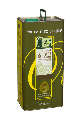 Picture of שמן זית נעם - פח 5 ליטר