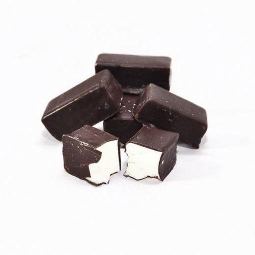 תמונה של ממתק וניל בבציפוי שוקולד